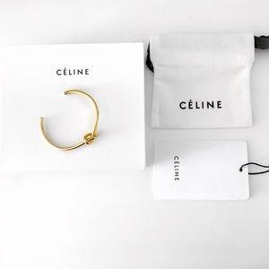 Gold Celine knot bracelet